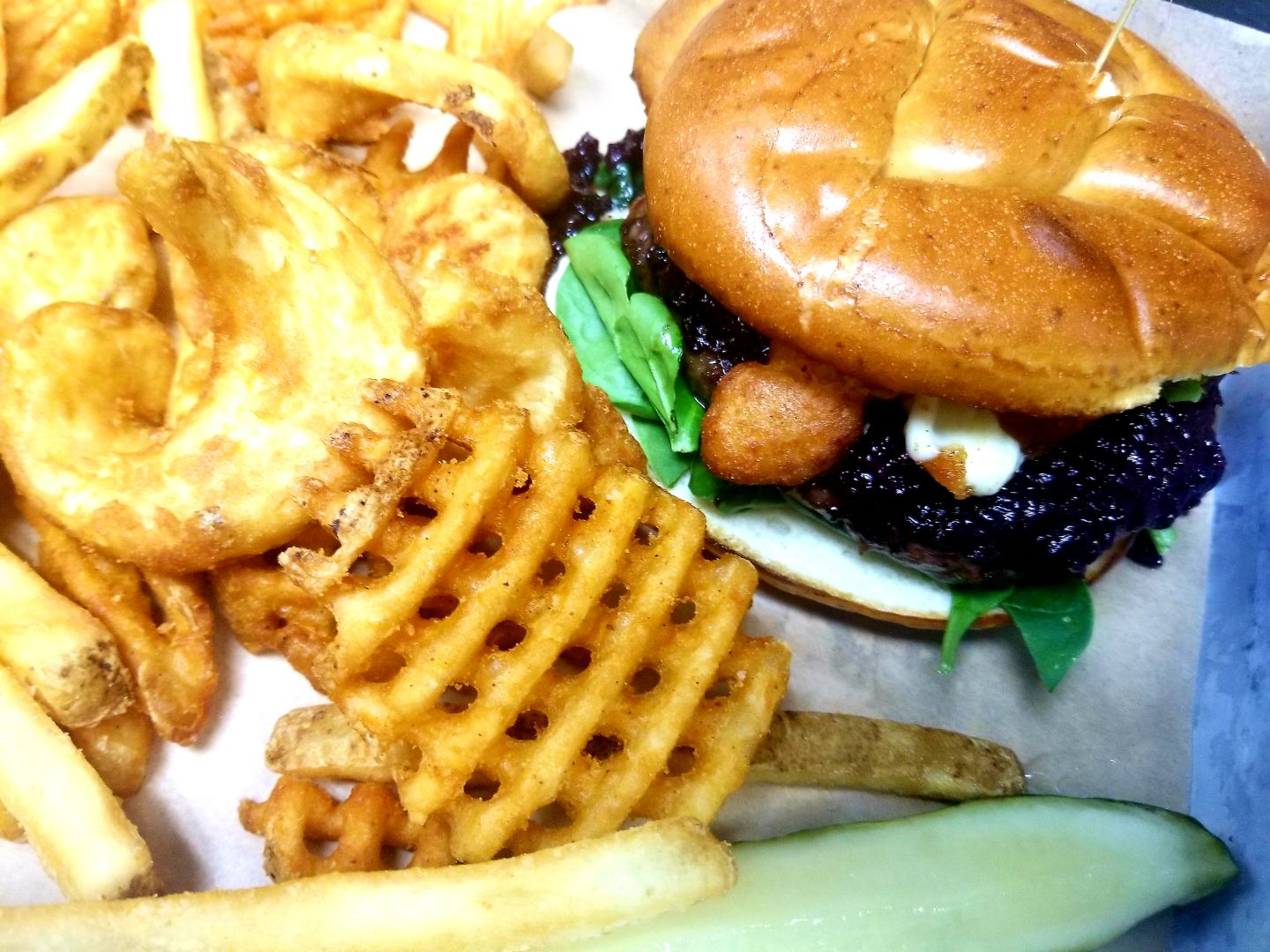 Whiskey Old Fashioned Burger